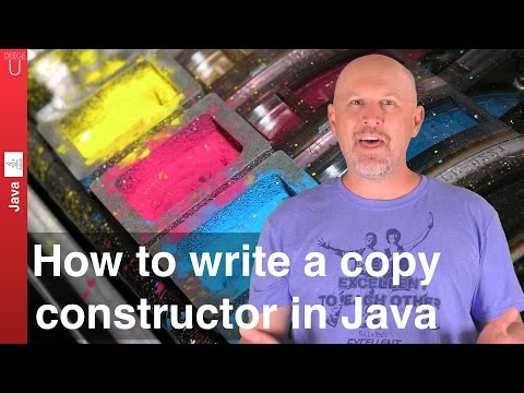 How to write a copy constructor in Java - 037