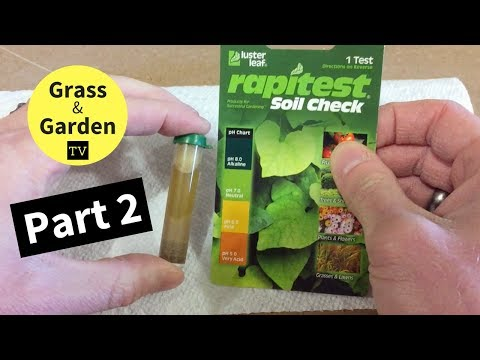How to Improve Your Lawn by Memorial Day - Part 2 - Checking Soil pH