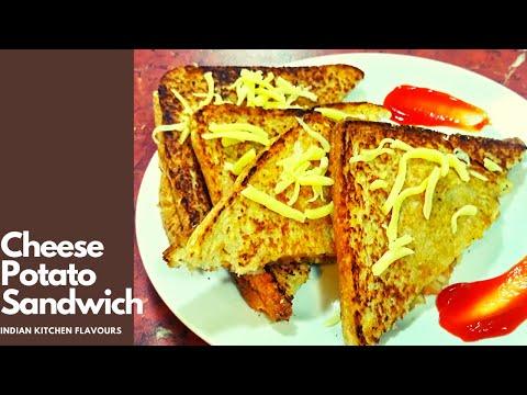 Cheesy Spicy Potato Sandwich | Potato Sandwich | Aloo Sandwich