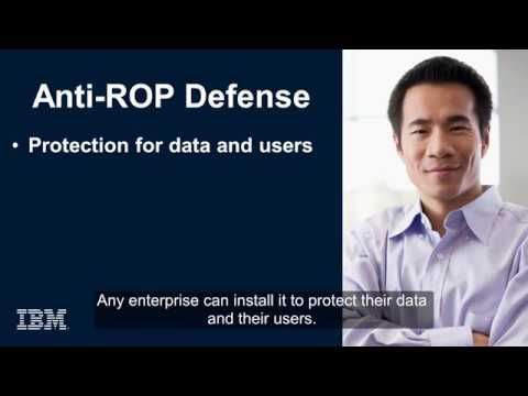 IBM Anti-ROP moving target defense technology