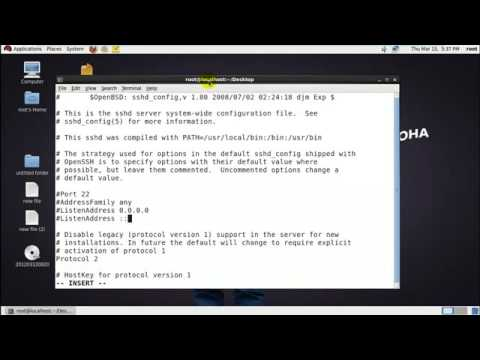rhel 6   how to configure ssh in redhat linux in hindi with sarvesh saroha
