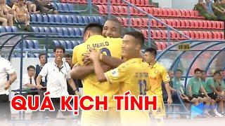 4 bàn thắng rượt đuổi kịch tính giữa Than Quảng Ninh và DNH Nam Định | NEXT SPORTS