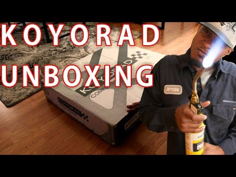 KOYORAD Unboxing | CB7 Project: Episode 5