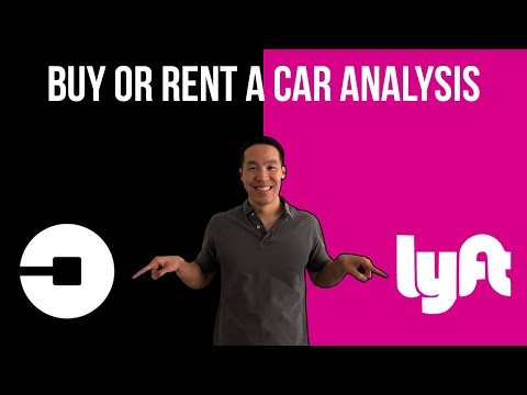 Should You Rent or Buy a Car for Uber or Lyft?