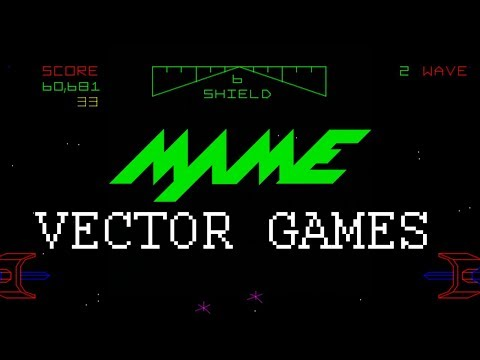 [TUTORIAL] Mame VECTOR GAMES