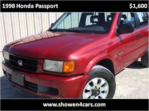 1998 Honda Passport Used Cars Wilmington OH