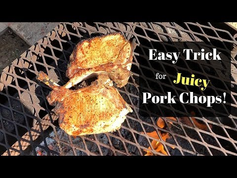 How to Grill Pork Chops - Tips for Juicy Pork Chops that Won't Dry Out