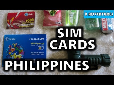 SIM Cards & Phone Setup, Philippines S3, Vlog 3