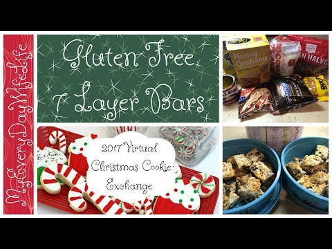 Gluten Free 7 Layer Bars || 2017 Virtual Christmas Cookie Exchange