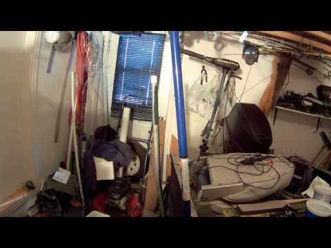 Fabrication d'un support pour camera GoPro pour bateau de peche.