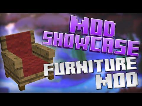 Minecraft Mod Showcase - FURNITURE MOD!