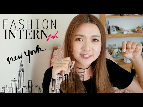 【Elaine, the Fashion Intern in NYC🏙】My FIRST Internship in the Fashion Industry👗FIRST WEEK!
