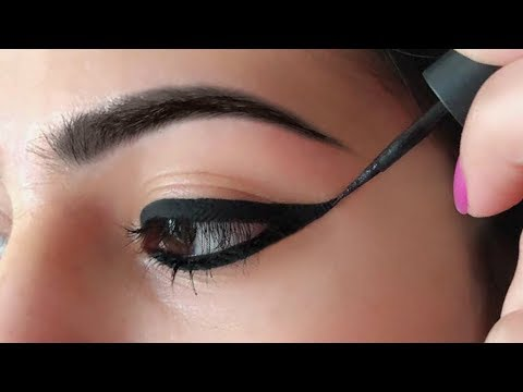 Wing Eyeliner लगाने का सही तरीका - How To Apply Perfect Winged Eyeliner for Beginners | Anaysa