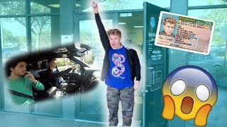 My first time driving! **I got my Drivers Permit**