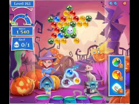 Bubble Witch 2 Saga level 763