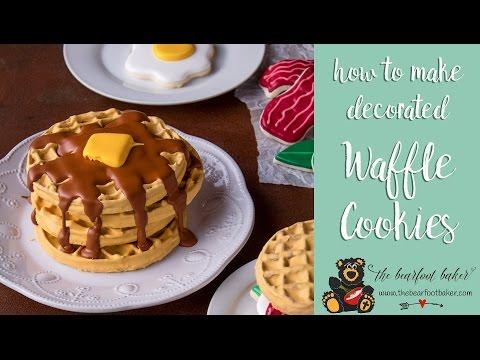 How to Make Wonderful Waffle Cookies | The Bearfoot Baker