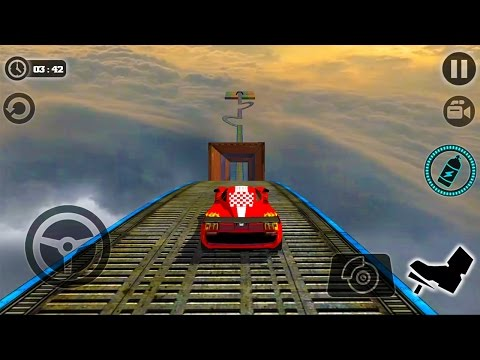 Xxx Mp4 Impossible Stunt Car Tracks 3D New Vehicle Unlocked Android GamePlay 2017 3gp Sex