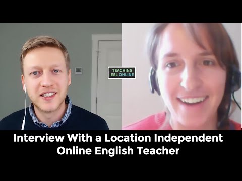 Interview With a Location Independent Online English Teacher
