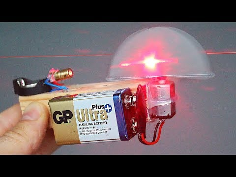 How to make a Simple Laser Level / NEW DIY !