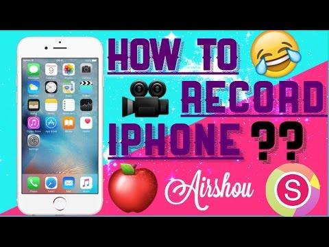 HOW TO RECORD SCREEN ON IPHONE/IPAD/IPOD🎥