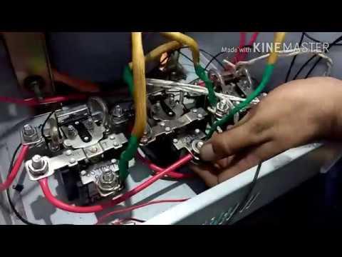 10 Kva Voltage Stabilizer/Steplezar (With Transformer Data, 90 V. To 290V.)