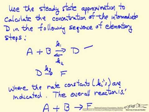 Steady-State Approximation