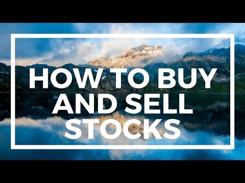 How to Buy and Sell Stocks (2018 Case Study)