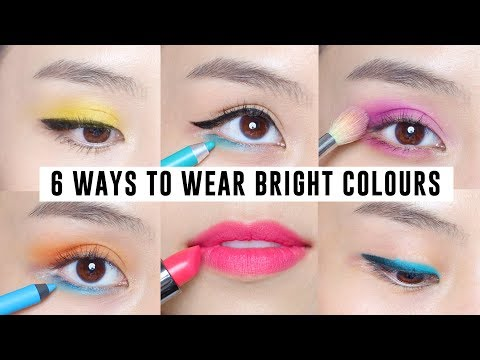6 Easy Ways to Wear Bright Colour Makeup