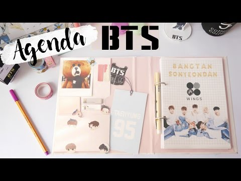 DIY K-POP : AGENDA BTS 2017 with English subtitles