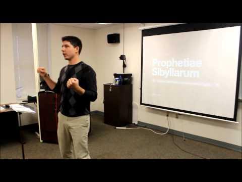 Mark Samples Teaching Video: Lasso; Italian Madrigal