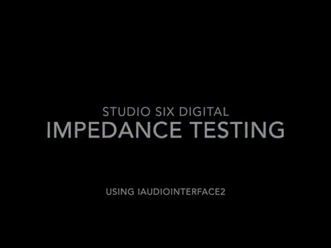 Impedance Testing Demo Video