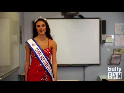 Stop Bullying with Bully Ban A solution Miss Tampa Bay Teen USA Supports