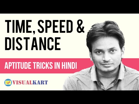 Time, Speed and Distance in Hindi
