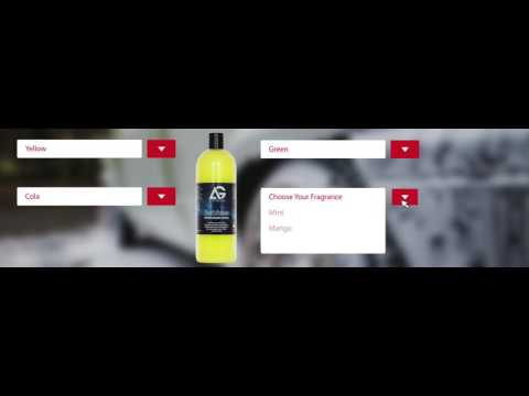 Custom Car Care Products - Chose your own colour & fragrance.