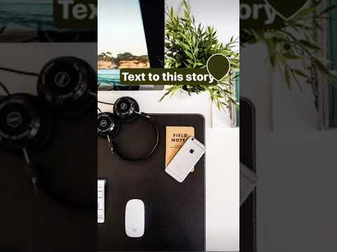Use the images in your Instagram Story as a color palette for text!