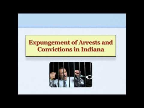 Expungement of Criminal Records in Indiana