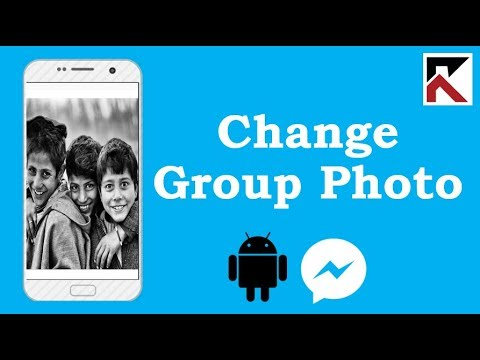 Change Profile Picture Of Group Chat Facebook Messenger Android