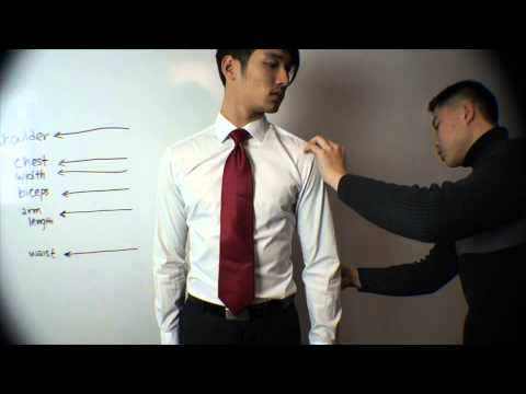 Suit Jacket Measurements with Baruch AKPsi