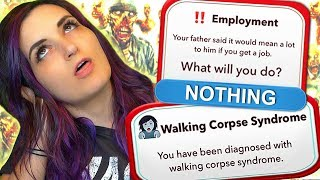Download I Became an ACTUAL ZOMBIE by Choosing to do ABSOLUTELY NOTHING ...in BitLife Video