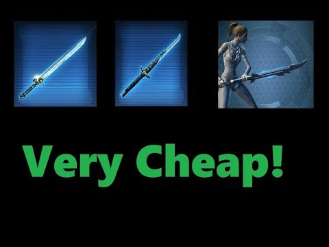 SWTOR: Best Vibroswords For Under 1 Million Credits