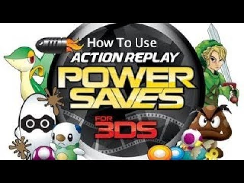 How to use Action Replay Power Saves for 3DS