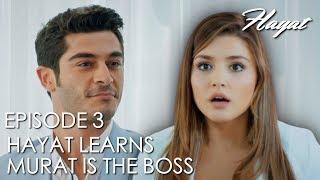Hayat learns Murat is the Boss | Hayat Episode 3 (Hindi Dubbed) [#Hayat]