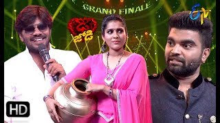 Sudheer   Rashmi   Pradeep   Funny Joke   Dhee Jodi   Grand Finale   11th Sep 2019   ETV Telugu