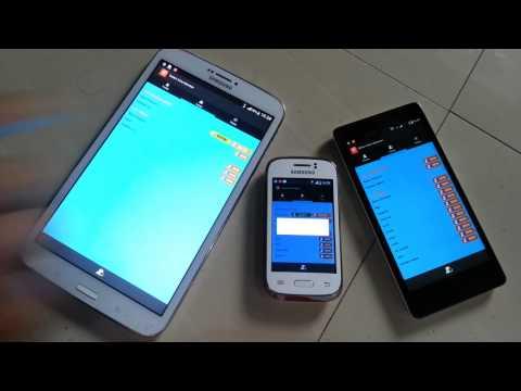 Tcp socket server linux dan client android