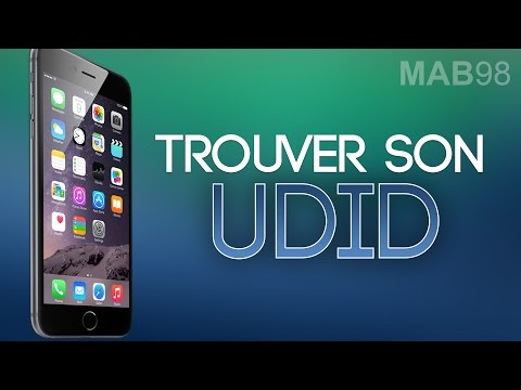 Trouver l'UDID de son iPhone, iPod touch, iPad