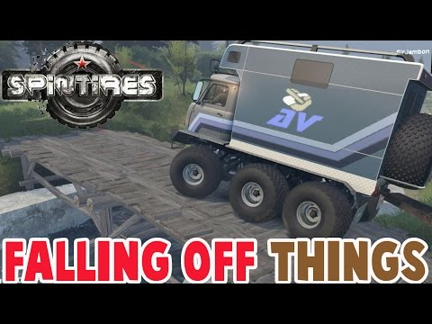 Spintires - EXPLORING THE BEST MAP EVER WITH THE 6x6 TRUCK - Spin Tires Gameplay