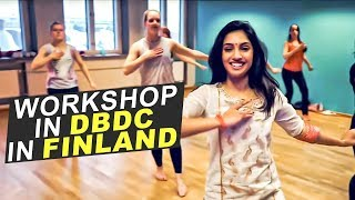 Ridy Sheikh - Workshop in DBDC in Finland | I Hate Luv Storys - Bahara | Instant choreography