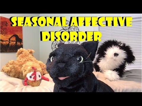 George, the Self Esteem Cat: Winter Blues and Seasonal Affective Disorder (SAD)