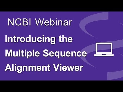 Webinar: Introducing the Multiple Sequence Alignment Viewer