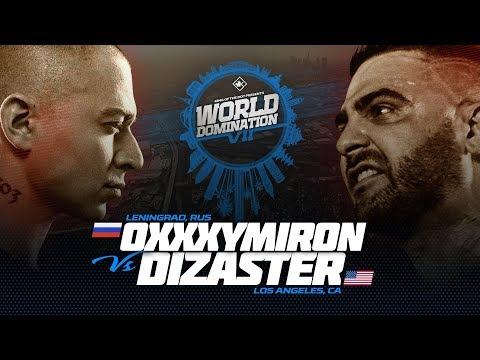 KOTD - Oxxxymiron (RU) vs Dizaster (USA)   #WDVII